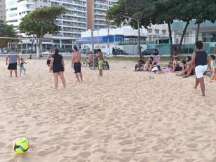 Vôlei na praia!!!