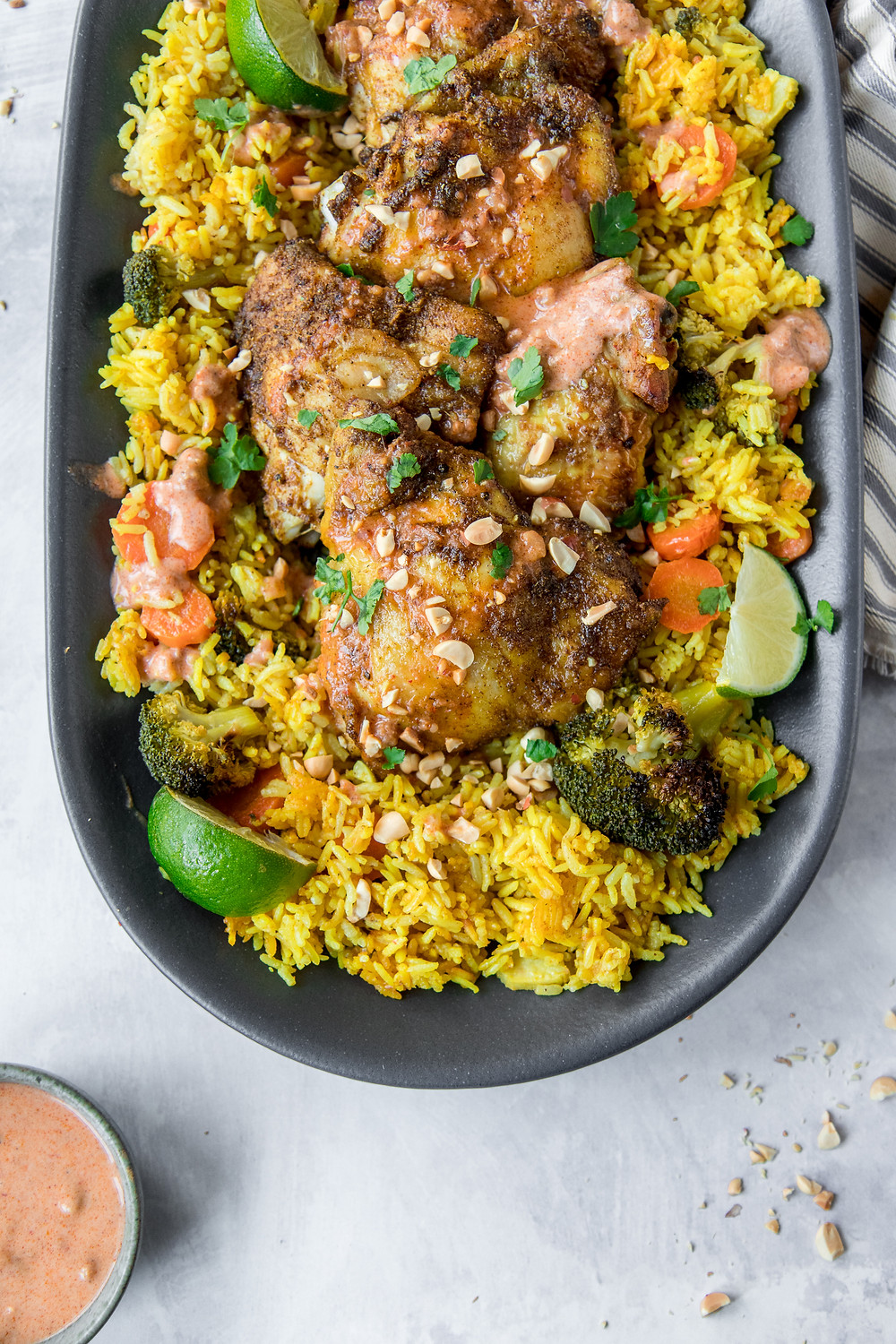 baked_chicken_satay_golden_rice