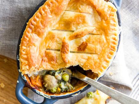 Creamy Vegetable Pie