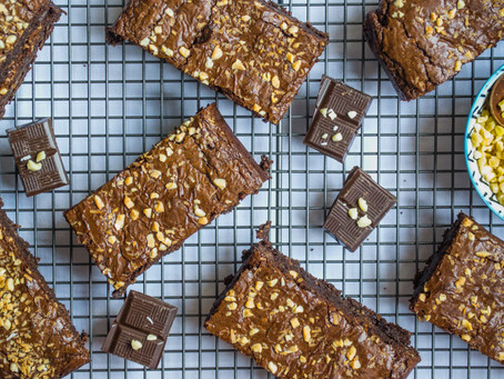 Chocolate, Almond & Coconut Brownie (Dairy + Gluten Free)