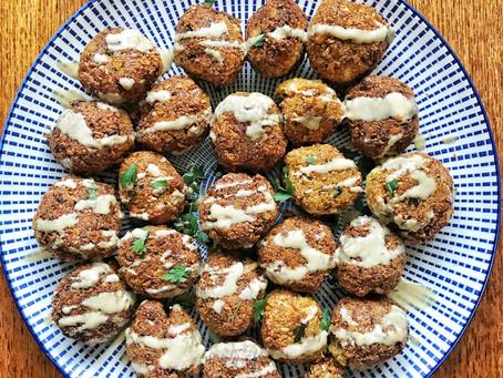Homemade Falafel