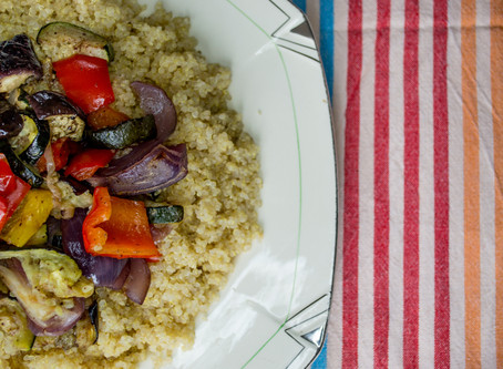 Quinoa & Roasted Vegetables