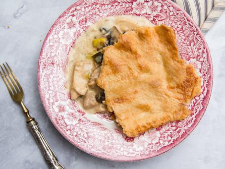Leftover Christmas Turkey Pie