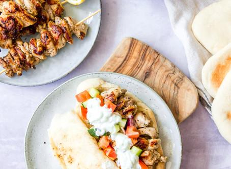 Juicy Greek Kebabs