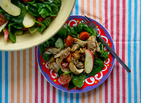 Chicken & Bacon Salad..with a twist