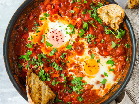 Simple Spicy Shakshuka