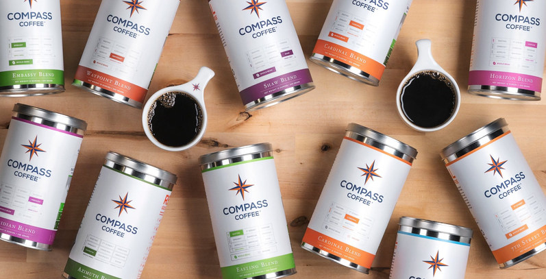 Now Serving Compass Coffee!