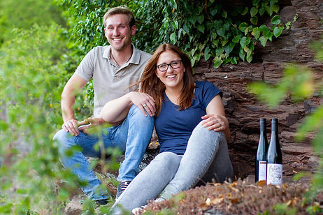 Angelina und Kilian Franzen, Weingut Rheinhold Franzen, Bremm, Mosel