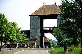 Deutsche Weinstraße, Weintor bei Schweigen