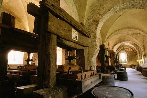 Historische Kelter im Schloss Eberbach, Rheingau