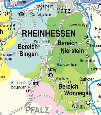 Weinanbaugebiet Rheinhessen
