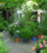 Innenhof im Weingut Hofmann in Appenheim