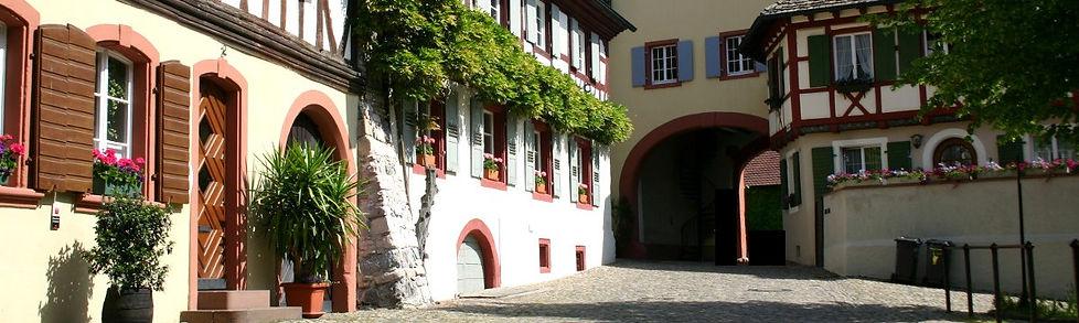 DAs Weingut Bercher in Burkheim am Kaiserstuhl
