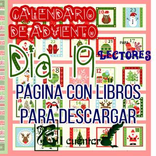 Día 19   Calendario de adviento   Página web para descargar libros