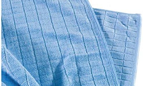 Microfaser Bodentuch blau