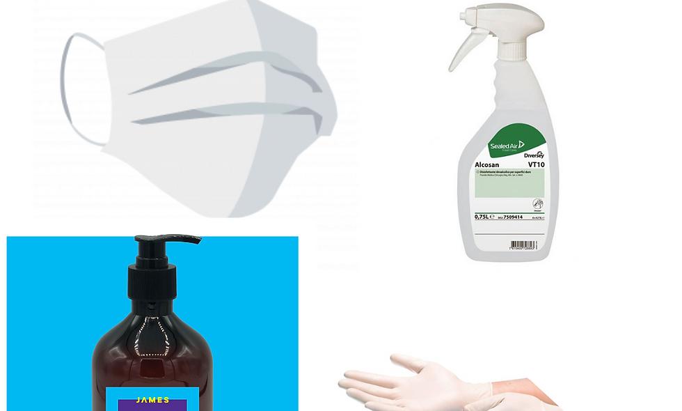 Basic Desinfektionsset - 4 Teilig