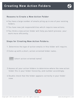 06 Creating Action Folders
