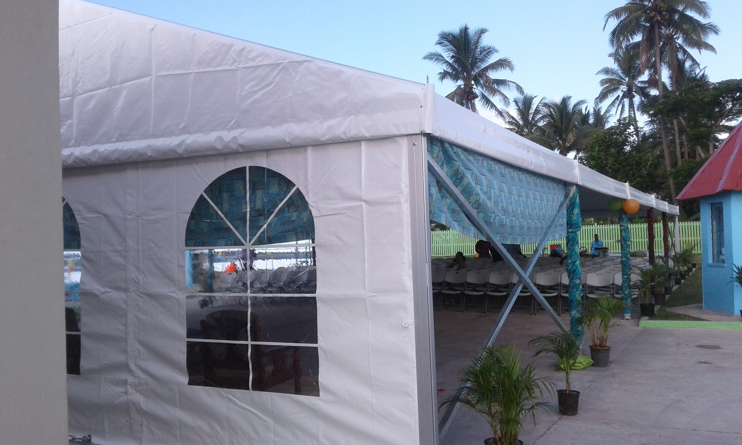 Executive Clear Span Tent 7