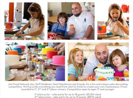 Duff's Cakemix El Segundo Grand Opening Kids' Cake-Decorating Contest