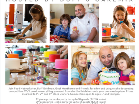 Duff's Cakemix El Segundo Grand Opening Kids' Cake-Decorating Contest