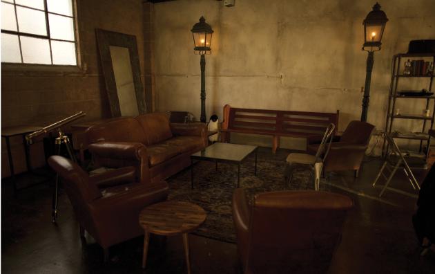 Smoky Hollow Roasters interior