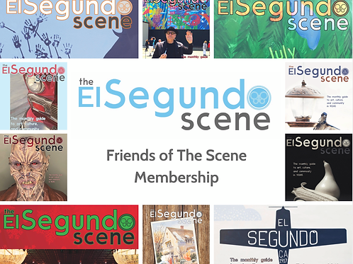 Friends of The Scene Membership - yearly subscription (12 issues mailed)