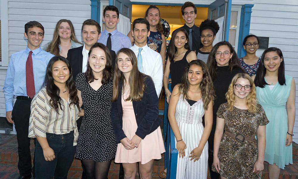 Photo of class of 2018 scholarship winners in El Segundo, CA