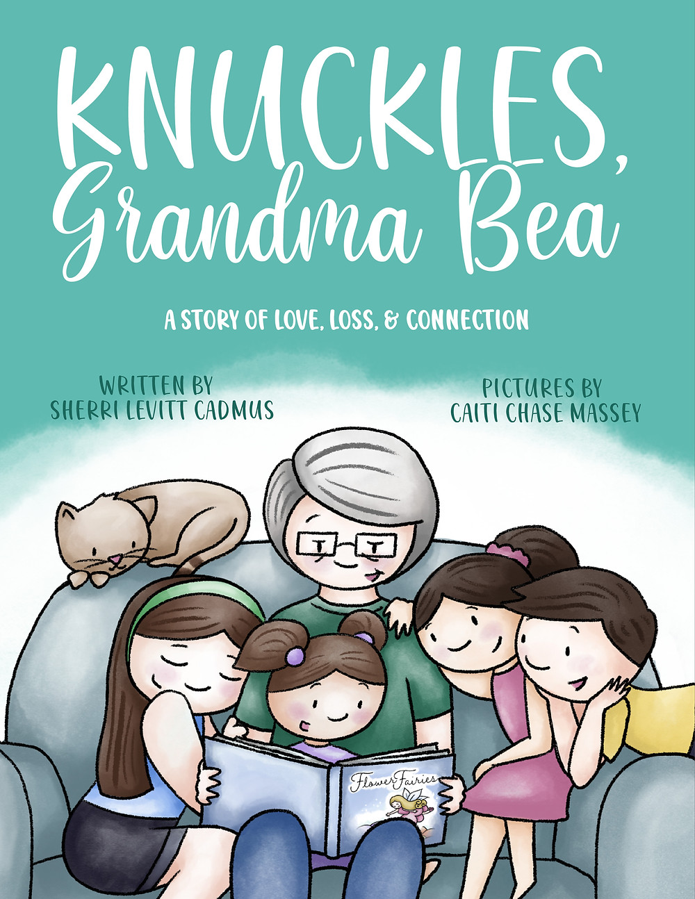 Cover image from the children's book Knuckles, Grandma Bea