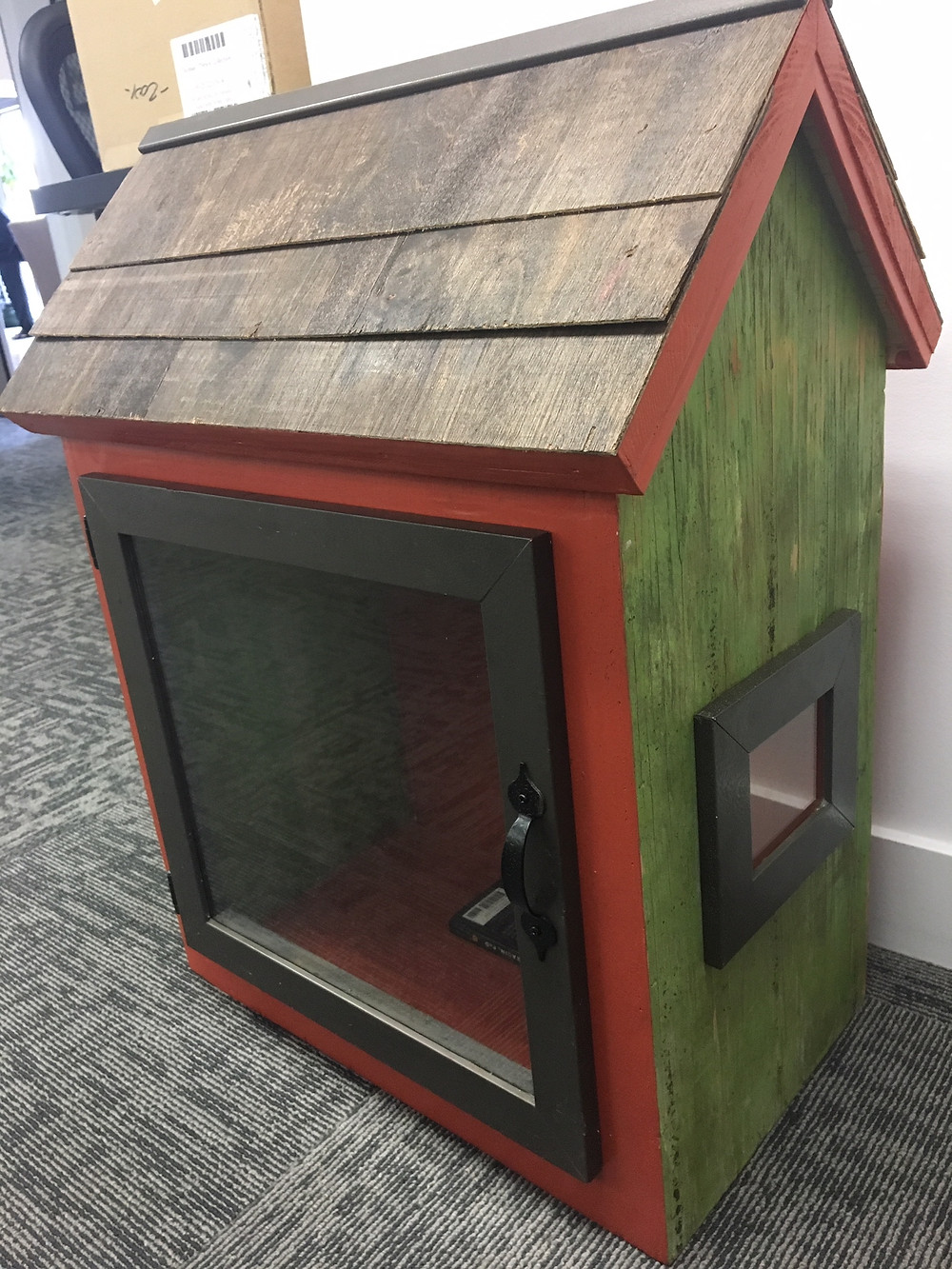 A Little Free Library built by Custom Design & Construction