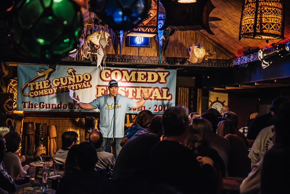 Dave Williamson at The Gundo Comedy Festival