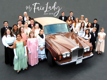 """My Fair Lady"" at El Segundo Performing Arts Center July 11-13"