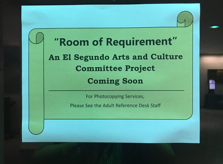 "The Artist's Voice: The New ""Room of Requirement"" at ESPL"