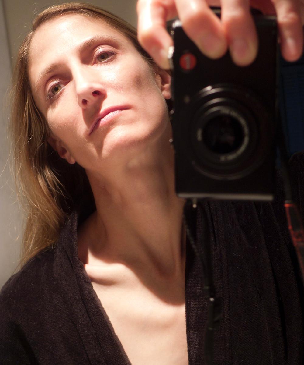 Photographer and artist Nicole Maloney photographs herself