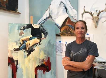 Meet Local Artist Dawn Whitney-Hall