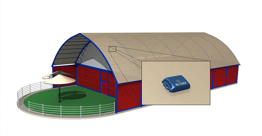 We-Sense Fabric Structures