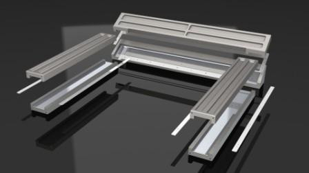 Aluminium Tooling for High Quality carbon fibre parts