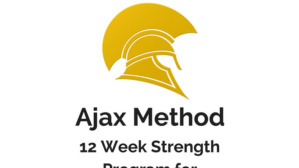 AJAX Method: 12-Week Program for Functional Fitness