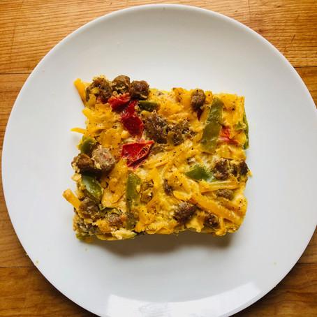Macro-Friendly Breakfast Casserole