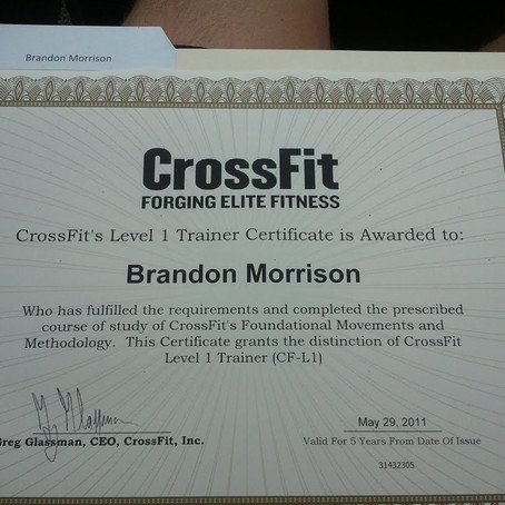 Certification Complete