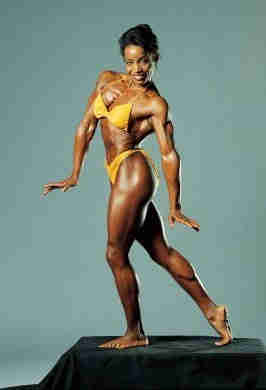 """Carla Dunlap Source: """"Carla Dunlap's Page."""" IFBB Hall of Fame. N.D. IFBB. 10 May 2008"""