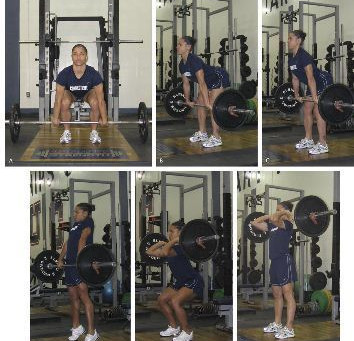 Progressing From the Hang Power Clean To The Power Clean: A 4 Step Model