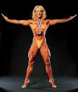 """Corey Everson Source: """"Cory Everson's Page."""" IFBB Hall of Fame. N.D. IFBB. 10 May 2008"""