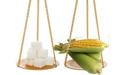 corn vs sugar