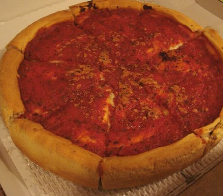 A Week of PR's, Chicago Pizza, and Burgers