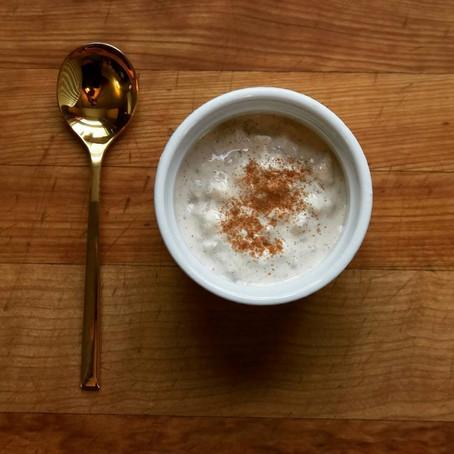 Sous Vide Vanilla Rice Pudding Recipe