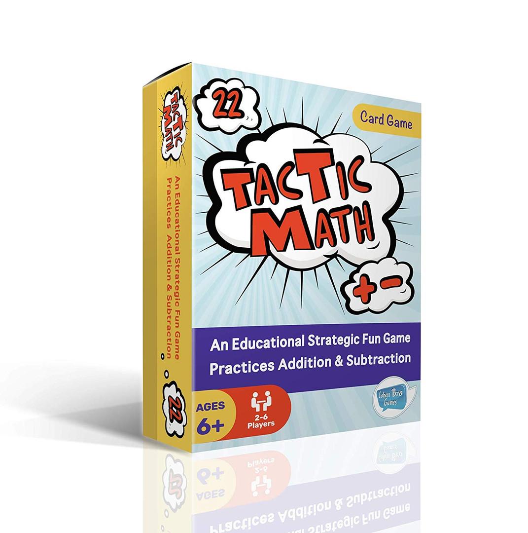 TacTic Math Cards Game