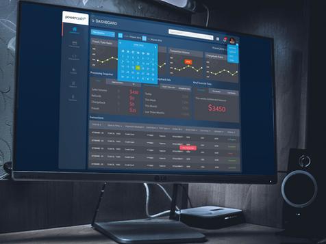 Powercash21 dashboard UI