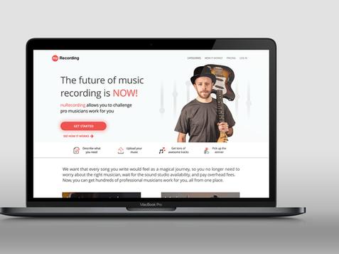 nuRecording marketplace for musicians
