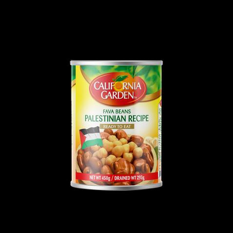California Garden Fava Beans (Palestinian Recipe) 450g