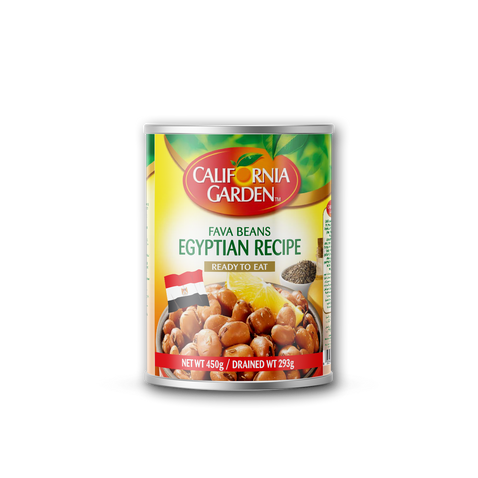 California Garden Fava Beans (Egyptian Recipe) 450g
